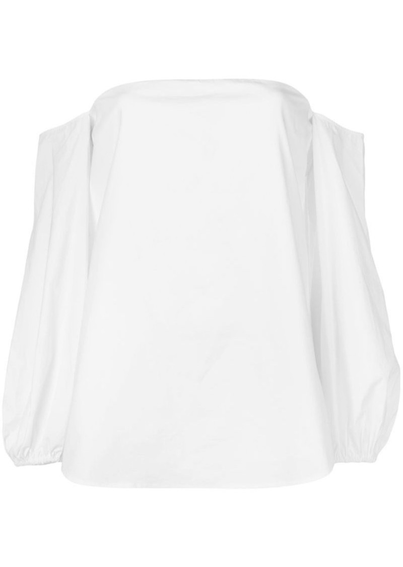Theory off shoulder blouse