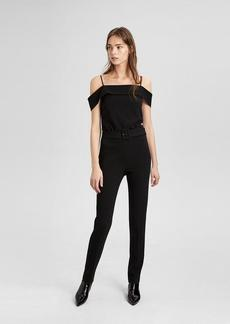 Theory Off-The-Shoulder Jumpsuit