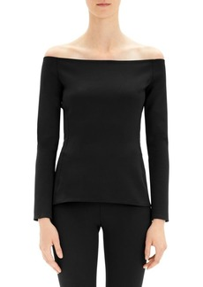 Theory Off-The-Shoulder Top