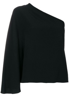Theory one shoulder blouse