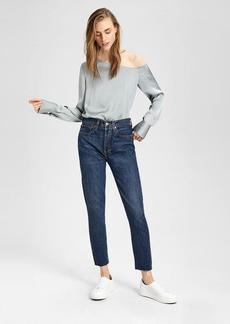 Theory One-Shoulder Blouse
