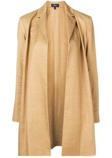 Theory open front coat