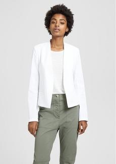 Theory Organic Crunch Linen Clean Blazer
