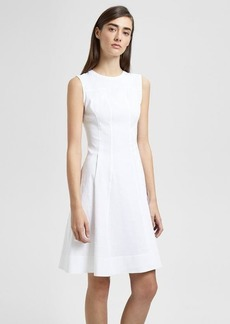 Theory Organic Crunch Linen Modern Tea Dress