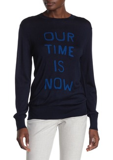Theory Our Time Is Now Silk & Cashmere Pullover