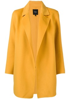 Theory oversized fit coat