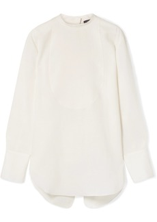 Theory Oversized Linen Blouse