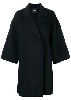 Theory oversized mid-length coat