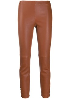 Theory panelled trousers
