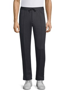 Theory Pelham Regular-Fit Quilted Ponte Sweatpants