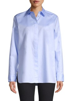Theory Perfect Cotton Tailored Shirt