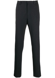 Theory pinstripe straight trousers