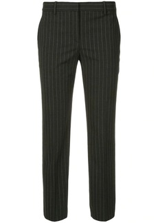 Theory pinstripe tailored trousers