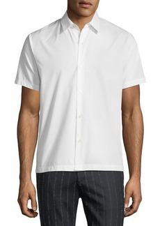 Theory Piqué Short-Sleeve Sport Shirt