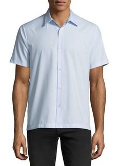 Theory Piqué Short-Sleeve Sport Shirt
