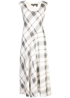 Theory plaid day dress