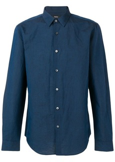 Theory plain button down shirt
