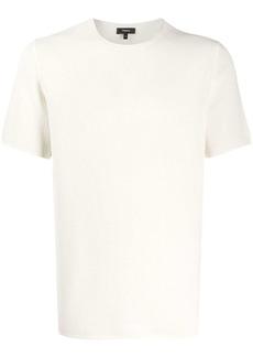 Theory plain crew neck T-shirt