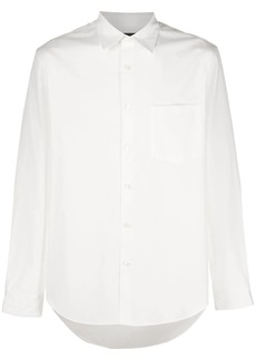 Theory plain long-sleeved shirt