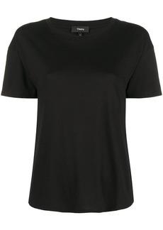 Theory plain panelled T-shirt