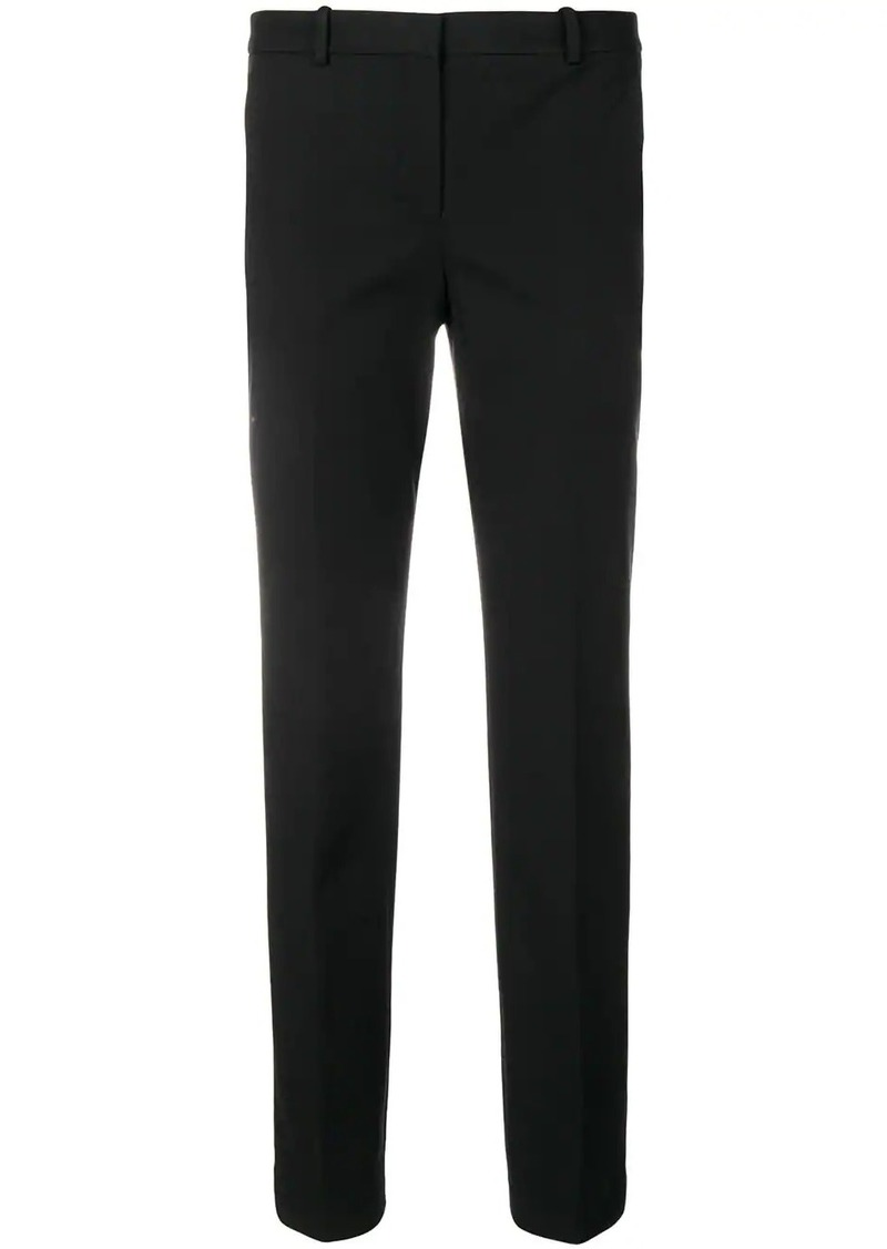 plain tailored trousers