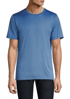 Theory Plaito Claey Cotton & Silk Tee