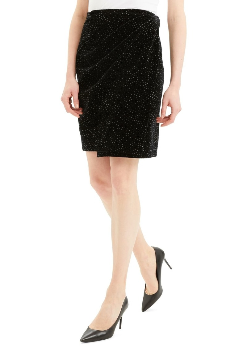 Theory Pleat Wrap Skirt