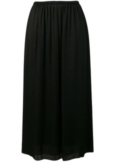 Theory pleated maxi skirt