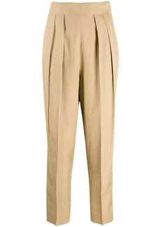 Theory pleated trousers