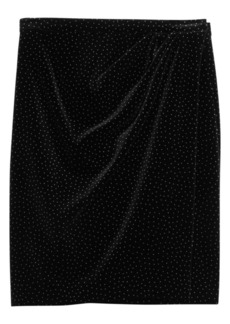 Theory Plelated Wrap Skirt