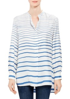 Theory Popover Silk Tunic