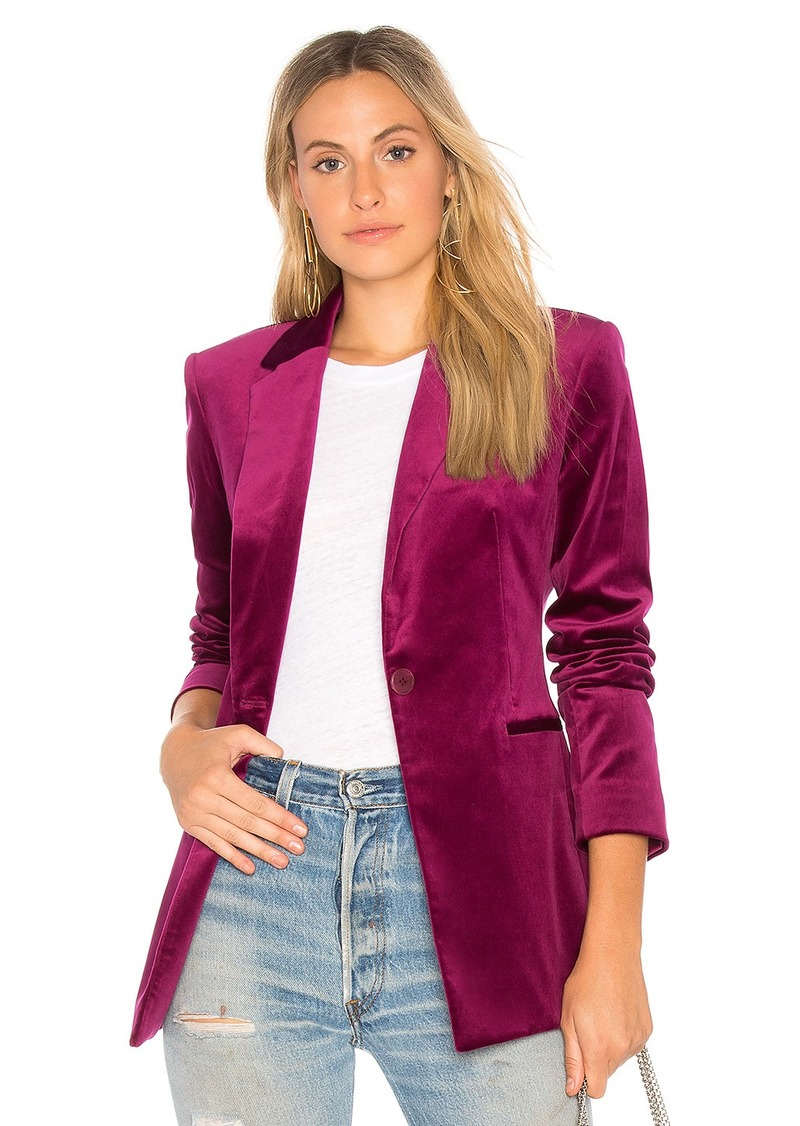 Theory Power Velvet Blazer