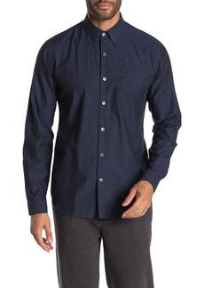 Theory Rammy Long Sleeve Slim Fit Shirt