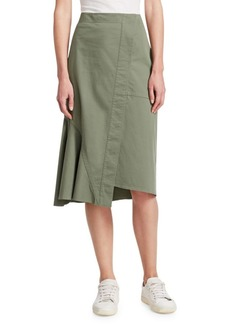 Theory Reconstructed Twill Skirt