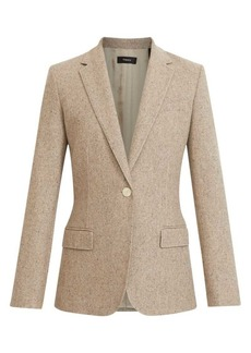 Theory Speckled Recycled Wool-Blend Blazer