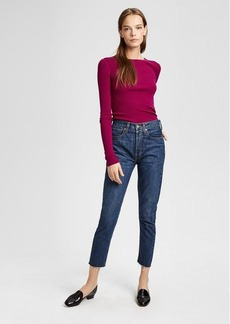 Theory Re/Done High-Rise Skinny Crop Jean