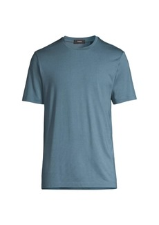 Theory Regular-Fit Clean Silk & Cotton T-Shirt