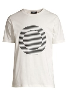 Theory Regular-Fit Ideal Holograph Jersey Tee