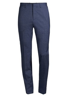 Theory Regular-Fit Mayer Eldon Virgin Wool Suit Pants