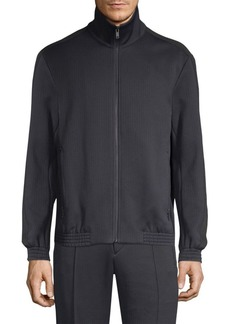 Theory Regular-Fit Quilted Ponte Jacket