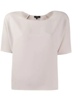 Theory relaxed-fit blouse