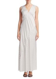 Theory Relaxed Stripe Slipdress