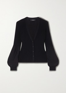 Theory Ribbed-knit Cardigan