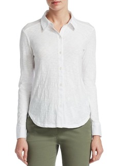 Theory Ridro Button-Front Shirt