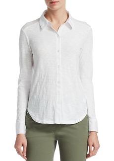 Theory Ridro Button-Front Shirt
