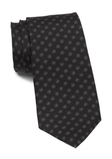 Theory Roadster Connel Circle Print Tie