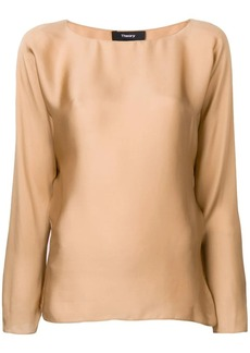 Theory round-neck blouse