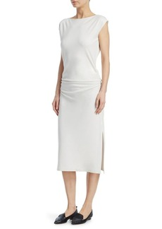 Theory Ruched Sheath Dress