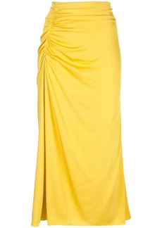 Theory ruched style skirt