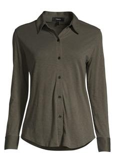 Theory Ruidiro Cotton Shirt